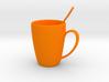 Coffee mug #5 XL - Spoon Included 3d printed