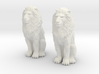 Lions Twin 3d printed