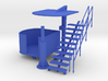 Marshal Tower for Slot Car Track (1/43) 3d printed Marshal Tower for Slot Car Track (1/43)