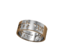I am my beloved's and my beloved is mine, Hebrew  3d printed