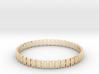 Bracelet OOO Medium 3d printed