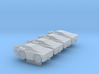 1:400 4x GT35 Pushback Tractor 3d printed