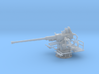 1/20 USN Single 40mm Bofors [UnElevated] 3d printed