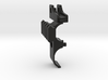 Cyma M870 airsoft front sight rail (Left side)  3d printed