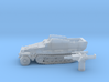 Sd.Kfz 251 vehicle (Germany) 1/200 3d printed