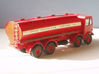 1:43 Elliptical Fuel Tank for AEC 3d printed Fitted to AEC 8 wheel chassis
