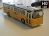 Volvo B10m Bus 2-2-0 H0 Scale 3d printed