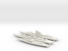 Set of 2 pc SS Littorio and 1 SS Andrea Doria 3d printed