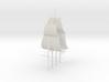 1/300 Frigate Mast Set V1 3d printed