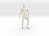 Strong male body 005 scale in 10cm 3d printed