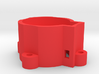 Robot Base for Rio Rand Metal Gear Servo 3d printed Looks best when printed in Red!
