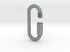 Сarbine / link of an infinite chain 3d printed