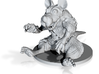MR SQUEEKS THE PATCHED 3d printed Zombie Steam Punk rat