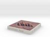 Uluru/Ayers Rock, Australia, 1:100000 Explorer 3d printed