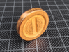 Super Mario Bros. inspired Coin 3d printed