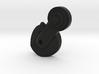 Thumbpin: Bevel body, Left-side - Tavor Safet 3d printed