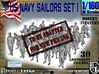 1-160 USN Modern Sailors Set1 3d printed