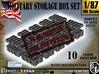 1-87 Military Storage Box Set 3d printed