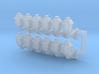 Street lamp 04. 1:64 Scale  3d printed