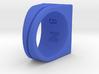 Miz.NK Ring NO.86 Inspired by Bridges between all 3d printed