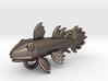 Fossil Fish Pendant  3d printed