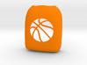Basketball - Omnipod Pod Cover 3d printed