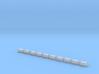 Sockelfundament ohne Mast in N  3d printed