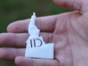 Idaho State Pendant 3d printed Actual model is now a bit bigger than this one