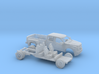 1/64 2017 Ford F Series Crew Dually Bed Kit 3d printed