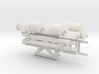 1/16 M31 Rear Deck Parts 3d printed