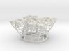 Koch Square Fractal 3d printed