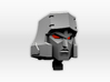 (2mm Screw) TR Faceplate & Helm for CW Megatron 3d printed