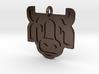 Cow Pendant 3d printed