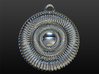 Hypnotizing Pendant (size L) 3d printed software rendering