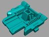 VF-1 Option Part; Battroid Access - 2 Seater 3d printed Neck Plate