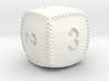Baseball D6 3d printed