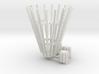 Scrambler crown turbo strips and sweep end turbos 3d printed