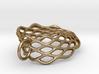 Mobius Mesh - Pendant in Metal 3d printed