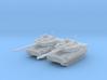 1/285 (6mm) US M8 Buford Light Tank x2 3d printed 1/285 (6mm) US M8 Buford Light Tank x2