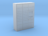 OO Gauge (1/76) Click and Collect Locker Small 3d printed