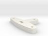 Tiller for Flap Rudder V03 1:87 3d printed