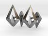 HEAD TO HEAD Again, Asymetric Cufflinks  3d printed