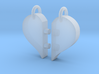 Heart Pendants-redesign 3d printed