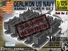 1-125 Oerlikon USN X10 Locker Open 3d printed