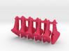 10 pcs. 21mm F2D control horn - 2nd gen 3d printed