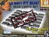 1-48 PT Boat DeadLights Set 3d printed