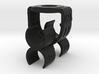 MS Stereo Mic Clip 19mm 3d printed Mid-Side Stereo Microphone Mount