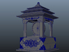Korea Traditional Clock 3d printed Perspective View
