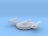 Romulan Bird-of-Prey (TOS) 1/15000 3d printed