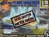 1-20 PT Torpedo Rack TypE Empty 3d printed